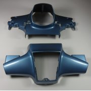 Honda C90 Cub Blue Plastic Handlebar & Headlight Covers