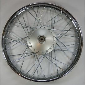 "Honda C90 Cub Rim Front Size 1.20 x 17"" Complete with Hub Fits Models 1993 - 2003"