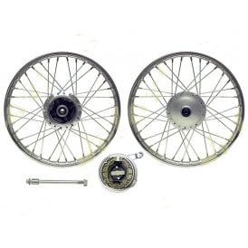 Honda CG125 Front Wheel Complete With Drum Brake 1.40 x 18""