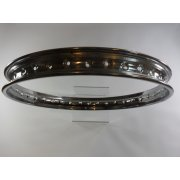"Chrome Rim 17"" x 1.6 36 Spoke Suitable For All Bikes"