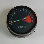 Honda 750 Four Tachometer Green Face