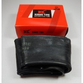 "King Heavy Duty Inner Tube 350/400 x 18"" Straight TR4 Valve"