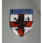 Lambretta Enamel Pin Bade Made in UK