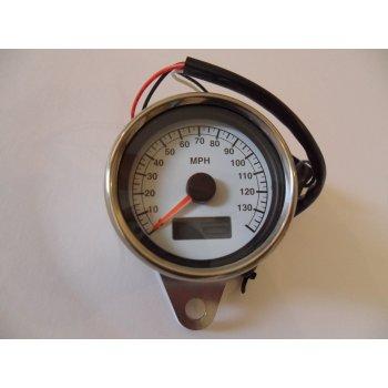 LED Illuminated Speedometer With Blue LED Illumination