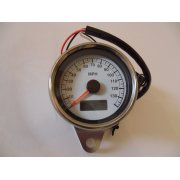 LED Illuminated Speedometer With Blue LED Illumination
