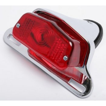 LUCAS 564 Rear Lamp for Classic Motorcycle Complete With Mounting Bracket