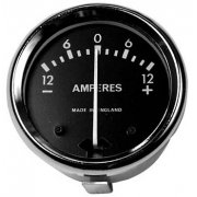 "Classic Motorcycle Ammeter 1 3/4"" 12-0-12 for Classic Motorcycle"