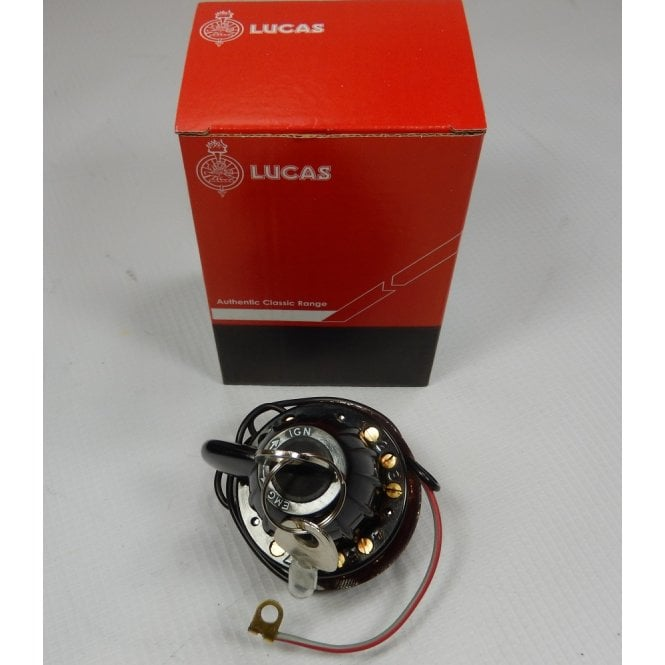 LUCAS Ignition / Lighting Switch for Classic Motorcycle PRS8 OEM LU31443