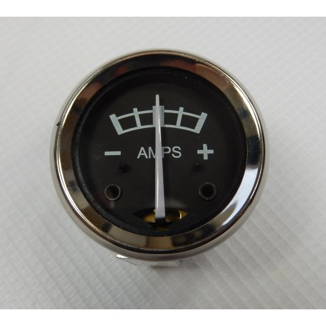LUCAS Pre-Scale Ammeter for Classic Motorcycle 1 3/4