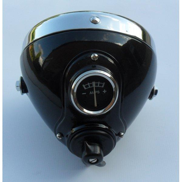 Lucas Lucas Replica Mu42 6 Headlamp For Classic Motorcycle