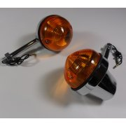 Lucas Type Indicators Short Stem for Classic Motorcycle (Pair)