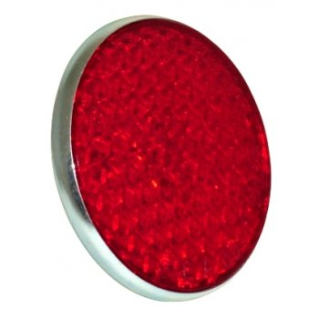 Lucas Type Reflector Red for Classic Motorcycle