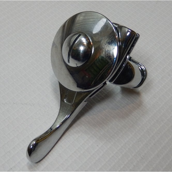 """Mag/Air Lever Right Hand for Classic Motorcycle 7/8"""" Handlebars UK Made"""