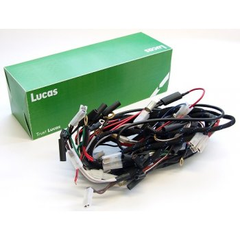 LUCAS Main Wiring Harness Triumph T140 / TR7 Braded No 54962258
