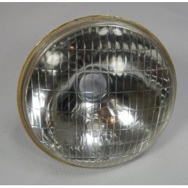 "Miller Headlamp Unit for Classic Motorcycles 5 3/4"" With Bulb Holders"