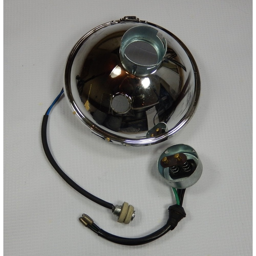 "Headlamp Unit Miller Type 5 3//4/"" classic british motorbike"