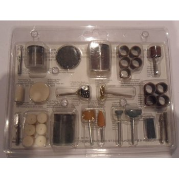Mini Tool Set For Cutting, Cleaning, Sanding & Grinding 105 Piece