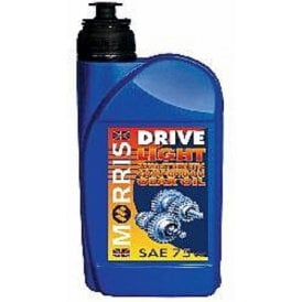 Classic Motorcycle Morris Light Gear Oil 75W 1 Litre Semi Synthetic Made in England