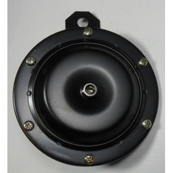 Motorcycle 12V Black Horn 100mm Diameter 110db Excellent Quality (U)