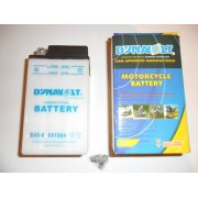 Motorcycle Battery B49-6 6V Made in Japan by Dynavolt