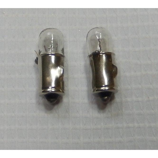 Motorcycle Bulb Miniature BA7S Bulbs Sold as a Pair 12V 2.0W