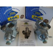 Norton Commando 750cc Standard Carburetter Pair Genuine Built By Amal