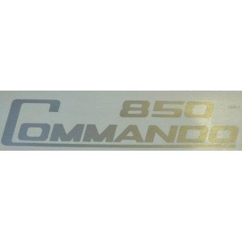 Norton Commando 850cc Silver Transfer