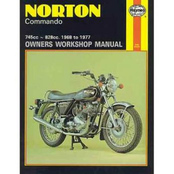 HAYNES Norton Commando Manual 750cc & 850cc 1968 - 1977