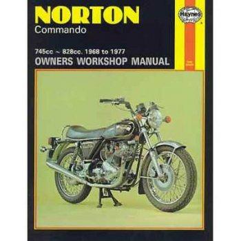 Haynes Norton Commando Manual 750cc & 850cc 1968 - 1977