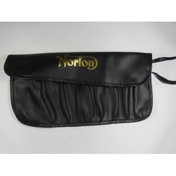 Norton Motor Cycle Tool Roll Made in UK Large Size