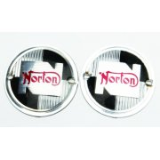 Norton Round Tank Badges (1957-68)