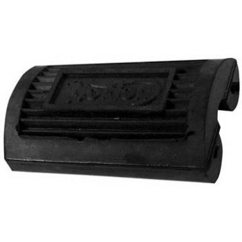 Norton Pedal Type Footrest Rubbers 9Pair) With Norton Logo