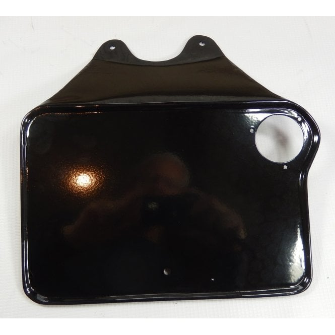 Norton Rear Number Plate for Pre-War Models 1936 That Were Fitted With Rear Lamp MT110