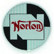 Norton Sew on Badge for Classic Motorcycle
