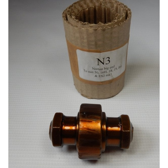 Norton Singles Genuine Alpha Big End Bearing Fits Model 50,16H,ES2,18,19,Big 4