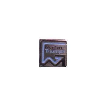 Norton / Villiers / Triumph Enamel Pin Badge for Classic Motorcycle