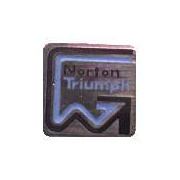 Norton / Villiers / Triumph Enamel Pin Badge for Classic Motorcycle