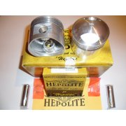Pair of Hepolite Pistons for Triumph T140/TR7 750cc models (1972-).
