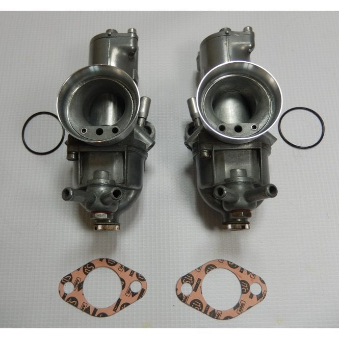 AMAL Pair of Standard T140V Carburetter Genuine 930/92/93 Re-Built Immaculate