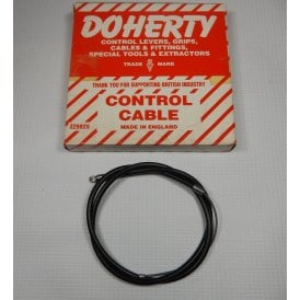 "Panther Model 100 Genuine Doherty 30"" Throttle Cable For 289 AMAL Carb"