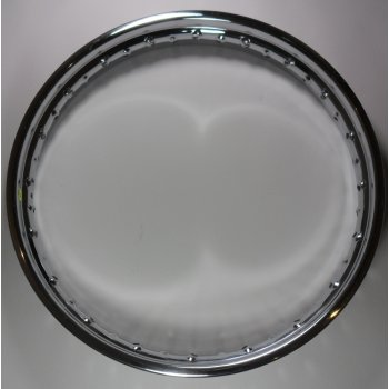 Triumph Quality Polished Stainless Steel Rear Rim For T120/T90/T100/TR6