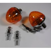 Rear Indicator set Honda C50, C70, C90 Models 1975 - 1985