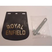 Royal Enfield Mudflap Suitable For Front & Rear Mudguards complete with Mounting