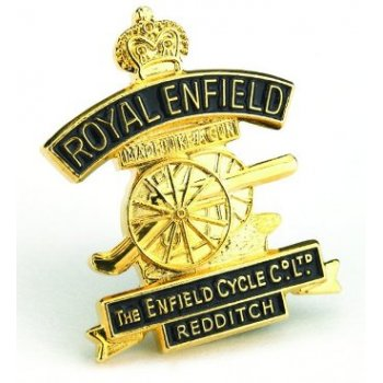 Royal Enfield Pin Badge for Classic Motorcycle