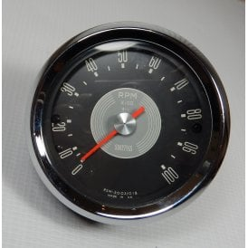 Genuine Original Smiths Tachometer Grey Face New Old Stock RSM-30003/018