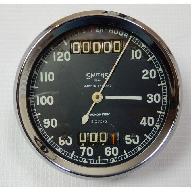 Smiths Instruments Genuine Smith Chronometric Speedometer 0-120MPH No S.575/3 Refurbished
