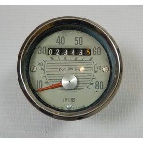 Genuine Smiths BSA Bantam Speedometer 0-80MPH Full Working Order SSM2001/00 1600