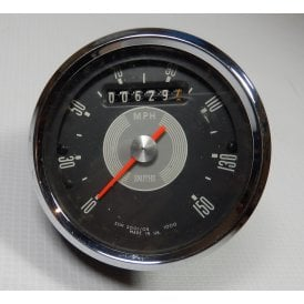 Genuine Smiths Grey Face Speedometer 0 - 150MPH Excellent Condition Only 629 Miles