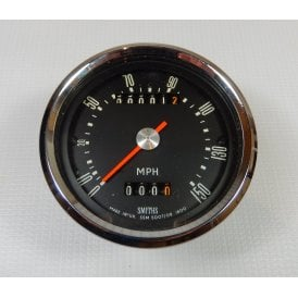 Genuine Smiths Speedometer 0-150 MPH & 0-100 New Old Stock