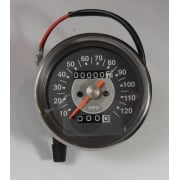 Grey Face Speedometer Early Type 0 - 120MPH 2-1 Ratio Magnetic Drive